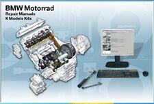 2004-2008 BMW K1200R ( Sport ) / K1200S / K1200GT RepROM Service Manual DVD