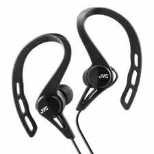JVC In-Ear Sports Stereo Headphones Earphones - Black For Music  New Uk HAECX20
