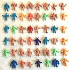 M.U.S.C.L.E. Men Figures Lot Of 47 Pieces Mattel Muscles