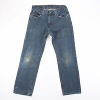 Vintage LEVI'S 559 Relaxed Straight Fit Men's Blue Jeans W30 L32