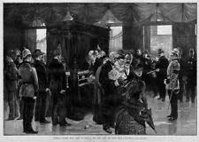GENERAL GRANT DEAD, BODY LYING IN STATE, NEW YORK CITY