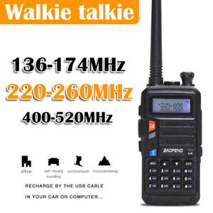 Baofeng UV-9R Walkie Talkie 5W VHF UHFLong Range Handheld Two Way Radio AU