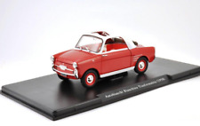 AutoBianchi Bianchina Transformabile 1958 Red 1/24 Scale Diecast model car