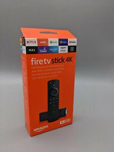 Amazon Fire TV Stick 4K mit Alexa-Sprachfernbedienung (2. Gen) NEU + OVP