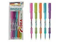 100 Hauser IDEA Ball Pen BLUE   0.7mm   Smooth writing   Sleek design