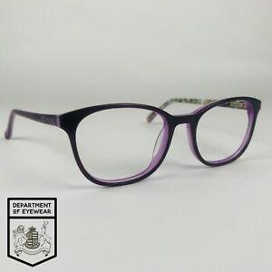 TED BAKER eyeglasses WOMENS PURPLE SQUARE glasses frame MOD: ELSA