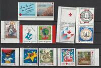 France Neuf Minr. 2867c, 3060c, 3180c Croix Rouge Marques de MH