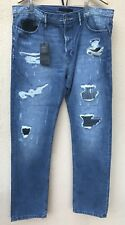 ROGUE Men's Made In USA Slim Straight Leg Jeans Size 38 / 32.