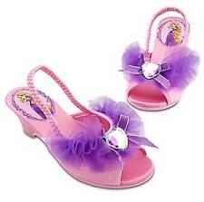 Disney Store Tangled Rapunzel Dressy Slippers Kid's Size 11/12