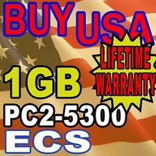 1GB ECS Elitegroup Computer 945GCT-M/1333 V3 Memory Ram