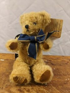 """9"""" Merrythought Mohair Hair Jointed Limited Edition  Teddy Bear Made in England"""
