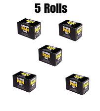 Ilford PAN 100 Black & White 35 mm 36 ESPOSIZIONE Pellicola 5 ROTOLI