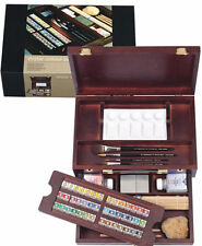Rembrandt Artists Quality Watercolour Wooden Box - MASTER Water Colour 05840002
