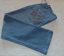 Hochwertige Stretch-Jeans Stickerei  Gr.40