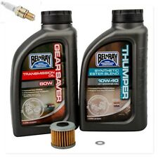HONDA CRF250R 2004–2017 Tusk Oil Change Tune Up Kit Bel-Ray 10W-40 Filter Plug