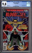 Demon Annual 2 CGC 9.8 NM/MT 1st Appearance Of Hitman DC Comics 1993