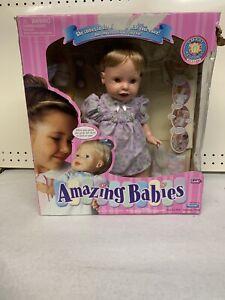 AMAZING BABIES DOLL BY PLAYMATES NIB Brand New In Box