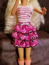Lovely Barbie Skirt & Top