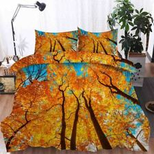 Blue Face Tree 3D Printing Duvet Quilt Doona Covers Pillow Case Bedding Sets