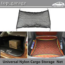 Universal Elastic Trunk Car Rear Cargo Organizer Storage Nylon Net With 4 Hooks