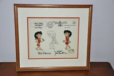 1988 Hanna Barbara Michael Jackson (Jackstone) Flinstone Kids Cartoon Movie Cel