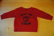 Schöner Jungen Pullover ★ Baby Kleidung ★ H&M ★ rot ★ Gr. 86/92