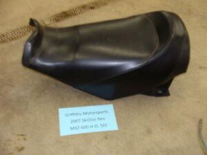 07 2007 SKIDOO 600 HO REV mxz SDI complete seat base cover foam sdi 800 trail 06