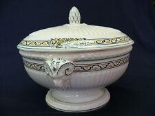 "Very Rare & Beautiful Wedgwood Etruria ""Haddon"" Lidded Bowl with Ram Handles"