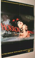 A1 Filmplakat ,HORROR EXPRESS,CHRISTOPFER LEE,PETER CUSHING,SYLVIA TORTOSA