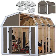Storage Shed Framing Kit Instant Barn Style Yard Equipment Building Frame