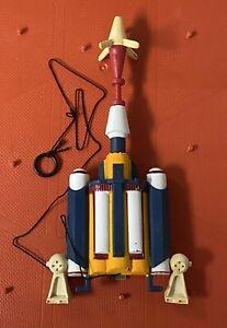 """Vintage Star Wars 12"""" Boba Fett Jetpack & Rocket Parts Accessory Original LSAF"""