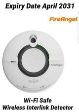 FireAngel WST-630T Wireless Link Thermoptek Optical Smoke Alarm Fire Toast Proof