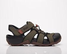 Teva Flintwood Men's Dark Olive Casual Athletic Lifestyle Sandals Footwear