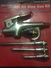 6 PC Blow Gun Air Compressor Kit