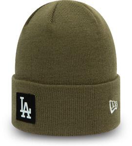 Los Angeles Dodgers New Era Team Cuff Olive Beanie