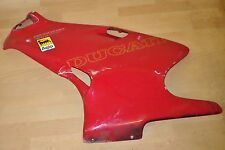 DUCATI 600ss/750ss SUPERSPORT LEFT SIDE BELLYPAN FAIRING PANEL *RED* 1994-1999