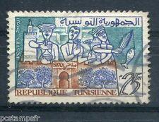 TUNISIE 1959-61, timbre 484, SFAX, oblitéré cachet rond