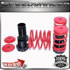 Coilover Lowering Spring Kits Adj. for 90-99 Eclipse Sentra Corolla Tercel Red