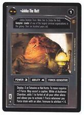 SWCCG Star Wars CCG • Jabba The Hutt • JABBA'S PALACE • RARE