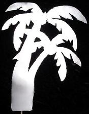 Palm Tree Tropical Metal Garden Yard Lawn Art Stake