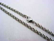 Stainless Steel 316L Chain Necklace Hypoallergenic 3mm  *  US Seller  *