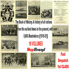 The Book of History. A history of all nations over 8,000 pictures 18 volumes PDF