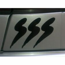 2x Nissan Pulsar SSS Laptop Windshield Sticker Decal