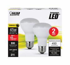 FEIT Performance 75 watts R20 LED Bulb 450 lumens Soft White Reflector 45 Watt