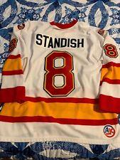 Oklahoma City Blazers Marty Standish Jersey 10th Anniversary Large