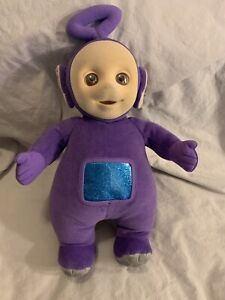 "Vintage Eden Plush Teletubbies Tinky Winky Stuffed Animal Purple 15"" 1998"