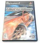 Need for Speed Underground (Sony Playstation 2, PS2) Complete Fast Free Shipping