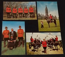 1960's - ROYAL CANADIAN MOUNTED POLICE - RCMP - CANADA - POSTCARD (4)