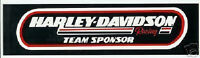 Harley Davidson Racing Team Sponsor Aufkleber 29x7cm Decal Bumper Sticker HD XL