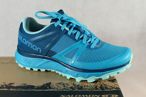 Salomon Trailster W Trainers Low Shoes Sneakers Running Shoes Turquoise New